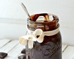Decadent homemade hot fudge
