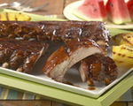 """Hoot-n Holler"" Baby Back Pork Ribs"