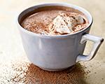 Hot Chocolate with Berry Liquor