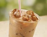 Classic sweetened iced coffee