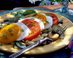 Italian Mozzarella and Butter Bean Salad
