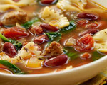 Italian Turkey Sausage Soup