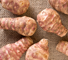 Baked Mashed Jerusalem Artichokes and Potatoes