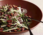 Kale & Apple Salad with Pancetta and Pecans