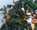 Kale with Walnuts and Parmesan