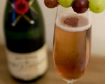 Kir Imperial Cocktail