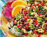 Latin-Style Beans and Greens