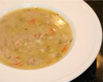 Leftover Turkey Chowder with Sage and Bacon 