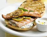 Lemon and Herb Grilled Trout Sandwiches