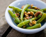 Lemon and Walnut Green Bean Salad