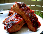 Lemon Barbecued Ribs
