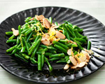 Lemon Green Beans with Almonds