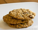 Lemon Oatmeal Raisin Cookies