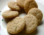 Lime Tea Cookies