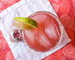 Lingonberries Margarita Cocktail