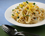 Linguine with Creamy Gorgonzola Sauce