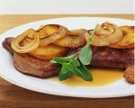 Liver With Apples and Onions
