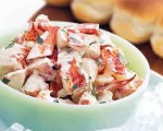 Creamy Crab Salad Topper