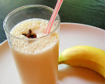 Lo-Calorie Banana Milk Shake