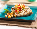 Mahi-Mahi with Blood Oranges and Avocado Salsa