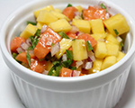 Mango and Papaya Salsa