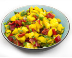 Sweet mango summer salsa