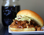 Marinated Pork BBQ Sandwich