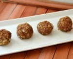 Homemade zesty turkey meatballs