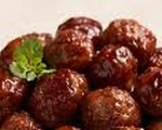 Chafing dish meatballs