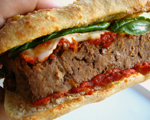 Meatloaf Ciabatta Sandwiches