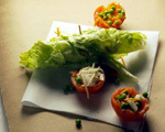 Mini Tomato Salad Halves