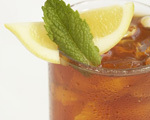 Mint and Lemon Iced Tea
