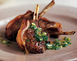 Mint and Wine Lamb Chops