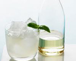 Minty Key Lime Cocktail