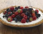 Mixed Berry Cream Pie