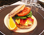 Morning sandwich