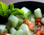 Moroccan Cucumber Salad