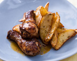 Moroccan Scented Chicken with Potatoes