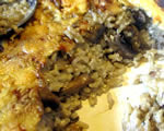 Baked Rice with Mushrooms