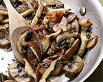 Mushrooms with Garlic and Rosemary