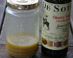 Mustard and Sherry Salad Dressing