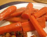 Glazed Carrot Strips