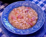 Navy Bean-Bacon Soup