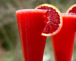 Non-Alcoholic Blood Orange Cocktail