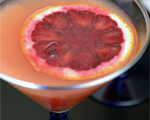 Non-Alcoholic Blood Orange Martini 