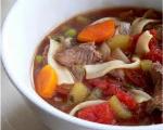 Beefy Noodle Soup