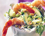 Noodle Salad with Shrimp