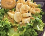 Nutty Banana Salad