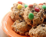 Oatmeal M&amp;M Cookies