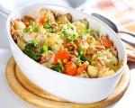 One Dish Potato Dinner